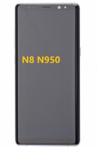 Recycle used Samsung Galaxy N8 N950 Screen