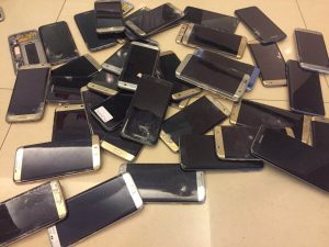 Cracked Samsung Galaxy S7 Screen Buyback