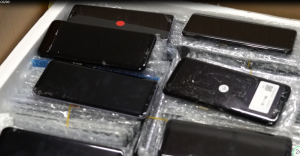 Cracked Samsung Galaxy S8 Plus Screen Buyback
